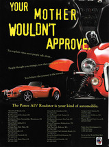 Panoz AIV Roadster Magazine Print Ad - $6.00