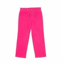 Faded Glory Girls Open Leg Microfleece Sweatpants Pink Size Large 10-12 NEW - $10.88