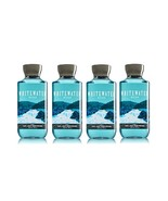4 Bath & Body Works Whitewater Rush 2 in 1 Hair & Body Wash for Men 10 o... - $26.99