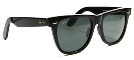 Ray Ban 2140 901A Classic Black Wayfarer Sunglasses 54mm Gray Lenses New... - $103.90
