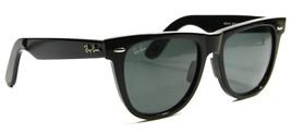 Ray Ban 2140 901A Classic Black Wayfarer Sunglasses 54mm Gray Lenses New Genuine - $103.90