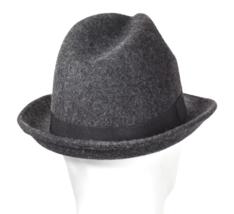 NEW Goodfellow & Co Men's Dark Grey 100% Wool Fedora M/L or L/XL image 2