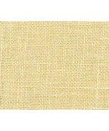 Sand 36ct Edinburgh Linen 18x27 1/4yd cut cross stitch fabric Zweigart - $14.85
