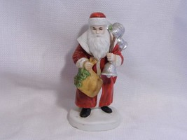 Christmas Enesco St Nicholas Santa Claus Holiday Collectible Figurine ~ 1985 - $11.99
