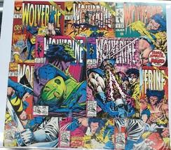 Lot of 8 Marvel Wolverine Comic Books #s 51-57 & 61 - $6.52