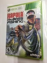 RAPALA PRO BASS FISHING XBOX360 NEW FACTORY SEALED - $34.00