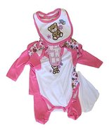 Newborn Baby Boys or Baby Girls 7 Pieces Set 0 to 9 Months 60% Cotton-40... - $9.99