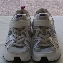 2010 Nike T-Run 3 ALT 429901-001White/Grey/Purple Youth Running Shoes! Size 5Y - $17.41
