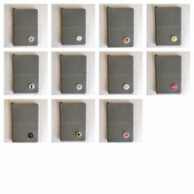 SALE!!!! Deluxe Leather Scorecard Holder. Grey. Includes Detachable Ball... - $10.24