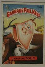 Dangling Dolly Vintage Garbage Pail Kids #196A Trading Card 1986 - $2.96