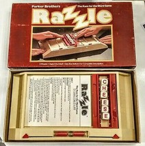 RAZZLE Board Game Race for the Word COMPLETE in Box 1981 Vintage Parker ... - $15.82