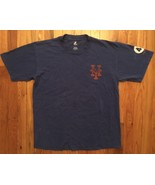 Majestic New York NY NYM Mets Tom Seaver 41 Jersey Tee T-Shirt Large L - $14.99