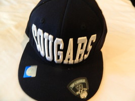 Team BYU Cougars NCAA Top of the World Navy Blue 86 Fitted 6 7/8 to 7 1/... - $14.20