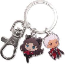 FATE/STAY Night - Archer & Rin Metal Keychain - $11.00