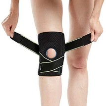 Knee Brace with Side Stabilizers & Patella Gel Pads for Knee Support - $21.65