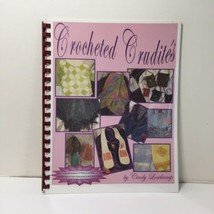 Crocheted Crudities Book Cindy Losekamp Machine Crochet with CD - $19.34