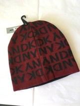 DKNY Donna Karen New  York  Cap  Hat  Knit  Beanie Beanies Man red charc... - $23.26