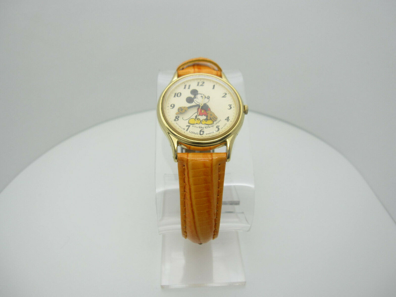 Vintage Mickey Mouse Quartz WR Analog Dial Watch (B956) V515-6118R image 2