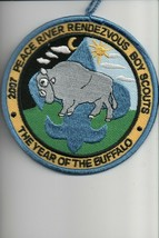 2007 Peace River Rendezvous The Year of the Buffalo patch - $4.16