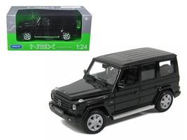 Mercedes G Class Black 1:24 Diecast Car Model by Welly - $34.27