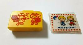 PATTY&JIMMY Bag Yellow Trunk Old SANRIO 1976' Vintage Retro Appendix - $44.88