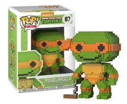 Funko 8-Bit Pop! Teenage Mutant Ninja Turtles Michelangelo Bobblehead #0... - $9.88