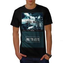 Party Life Shirt Up All Night Men T-shirt - $12.99+