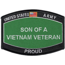 US Army Son of a Vietnam Veteran Army Hat Patch - $9.89