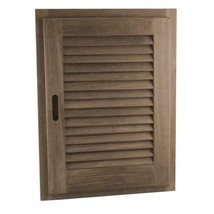 60724 Louvered Door & Frame Large Rh 15In.X 20In. - $130.99