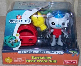 Disney Jr. Octonauts  Barnacles' Heat Proof Suit Figure Pack New - $8.88