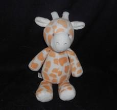"9"" Carter's Baby Spotted Orange Giraffe Stuffed Animal Plush Toy Lovey 63183 - $45.82"