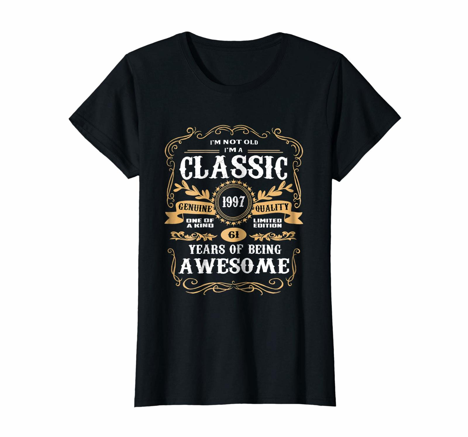 Uncle Shirts -   Vintage Classic 1997 Shirt 21st Birthday Gifts For Women Men Wo image 2