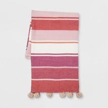 "Opalhouse- Multicolor Woven Cotton Throw Blanket 50"" X 60"" - $633,98 MXN"