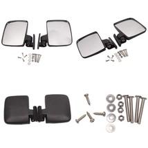 Betooll Hw9008 Golf Cart Folding Side View Mirrors For Club Car, Ezgo, Y... - $19.84