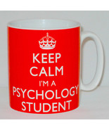 Keep Calm I'm A Psychology Student Mug Can Personalise Great University ... - $11.64