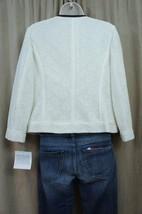 Anne Klein Suit Separates Sz 4 Ivory SKYLINE Lace Full Zip Career Suit J... - $49.44