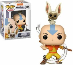 Funko POP! Animation: Avatar - Aang with Momo - $12.57