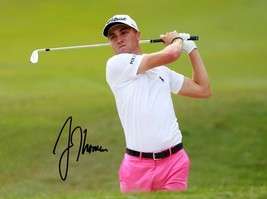 * Justin Thomas Signed Photo 8X10 Rp Auto Autographed Golf Pro - $19.99