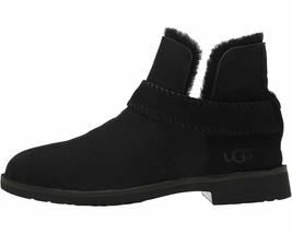 UGG Mckay Black Women's Twinface Sheepskin Ankle Booties 1012358 - $134.00