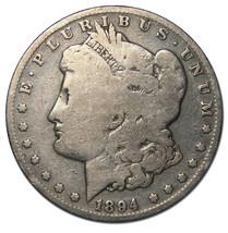 1894 MORGAN SILVER ONE DOLLAR Coin Lot # A 1255