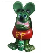RATFINK Statue 2' Ed Roth Big Daddy Cast Aluminum Sculpture Hot Rod Art ... - $272.25