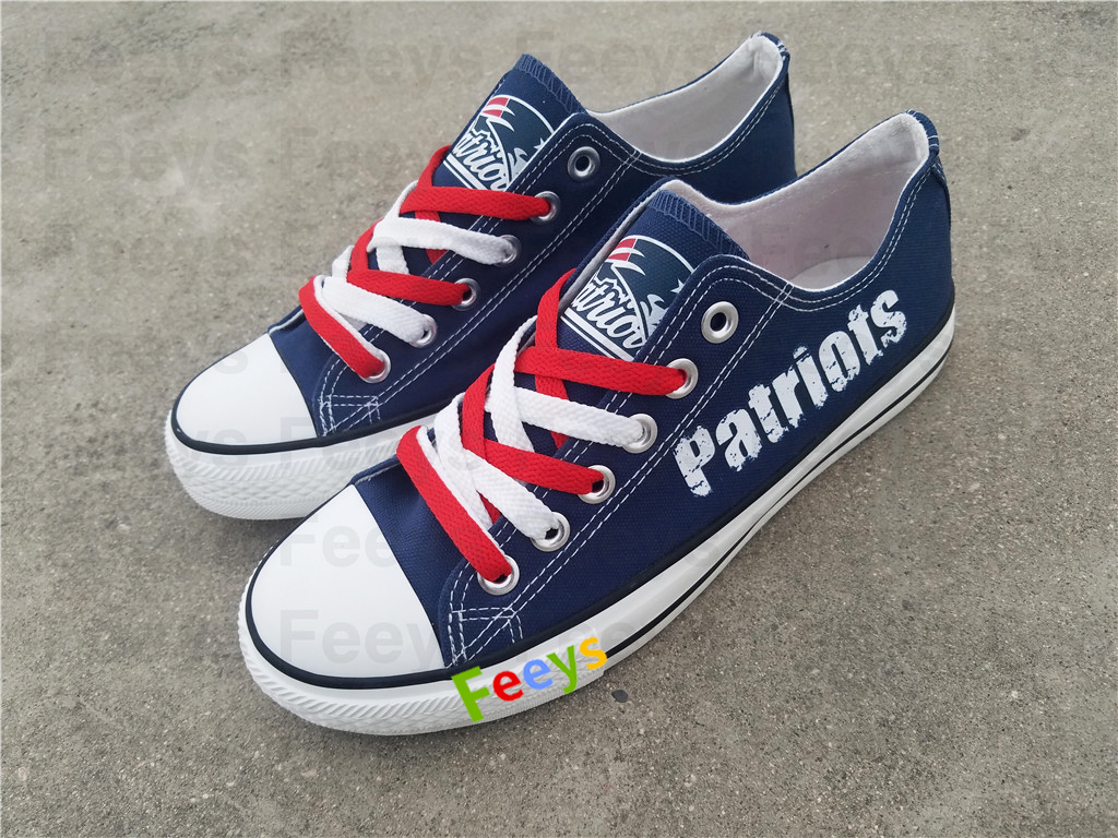 New england patriots shoes patriots sneakers super bowl fashion birthday gift S