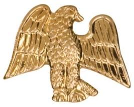 Gold Finish Metal American Eagle Pin TIE TACK School Varsity Insignia Chenille - $4.79+
