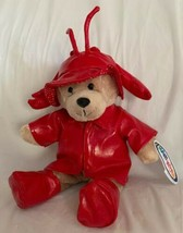 "Mary Meyer Teddy Bear with Red Lobster Hat Boots Raincoat Plush Toy NWT 11"" - $19.79"