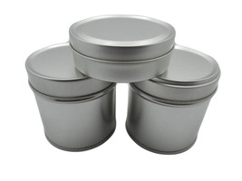 Top Tea Tin Wide with Lid Cover Size 2.5 x 2.7 ... - $14.95