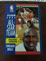 Michael Jordan # 211 1991-1992 Fleer Basketball Collectors Card - $485.00