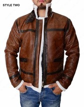 Resident Evil 4 Leon Scott Kennedy Real Leather Jacket Cosplay Costume - $129.00