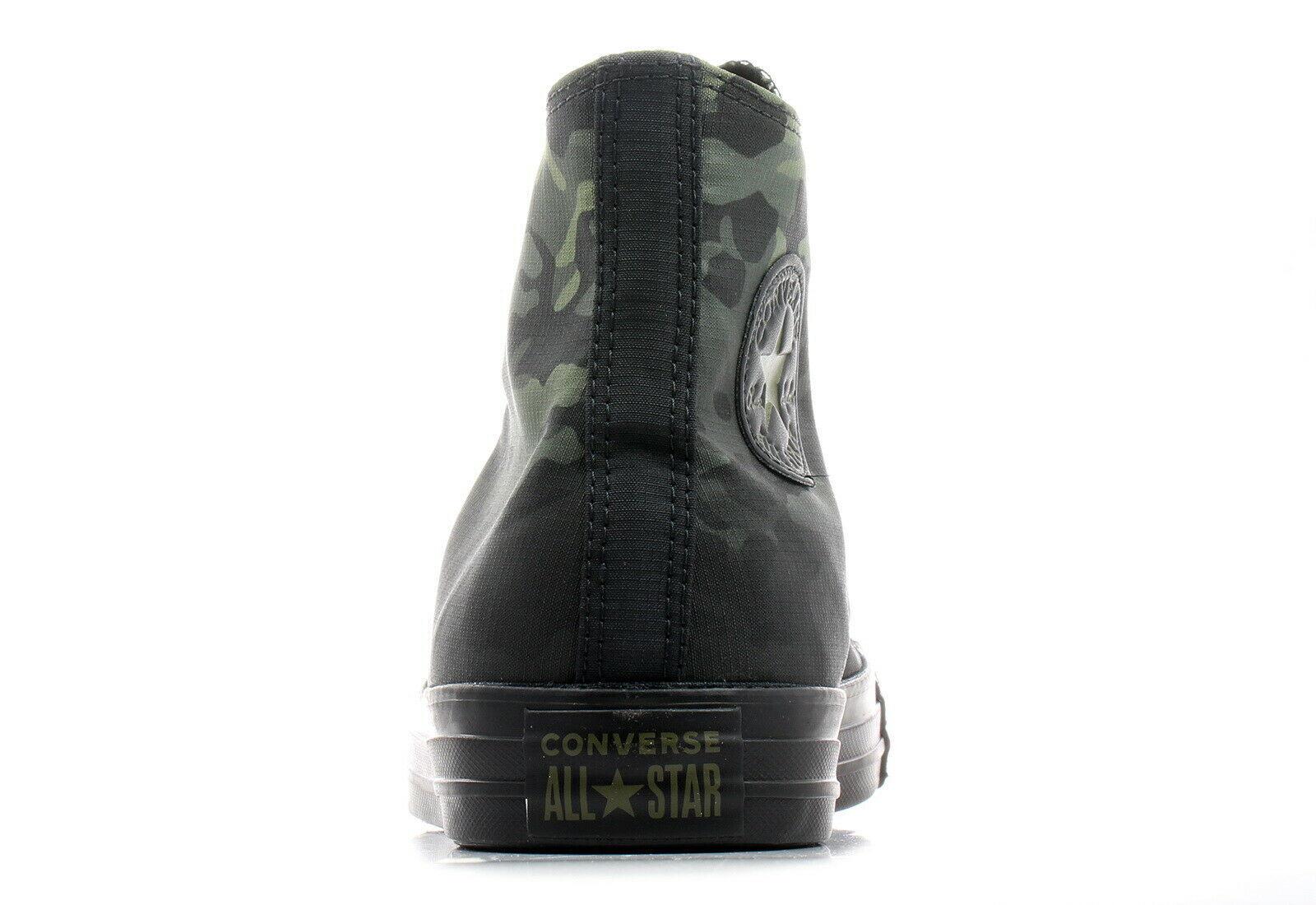 Mens Converse CTAS Hi 163241C Field Surplus/Black Size 8.5 Camouflage NWB
