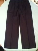 Mens teens Size 30X30 Perry Ellis pants flat front blue formal dress - $14.29