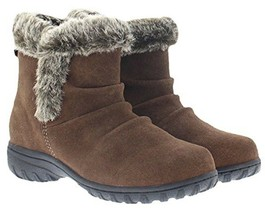 New in Box Khombu Women's Brown or Black Suede Lisa All Weather Winter Boots NIB image 2